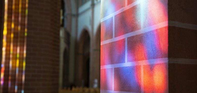 Kirchenführung - Glasfenster von Martin Häusle