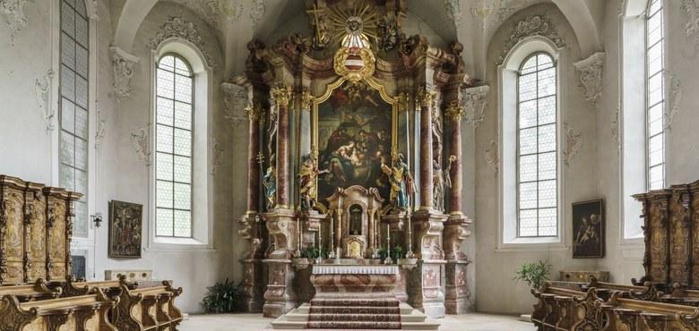 Kirchenführung - Der Heilige Gallus - ganz persönlich in seiner Kirche