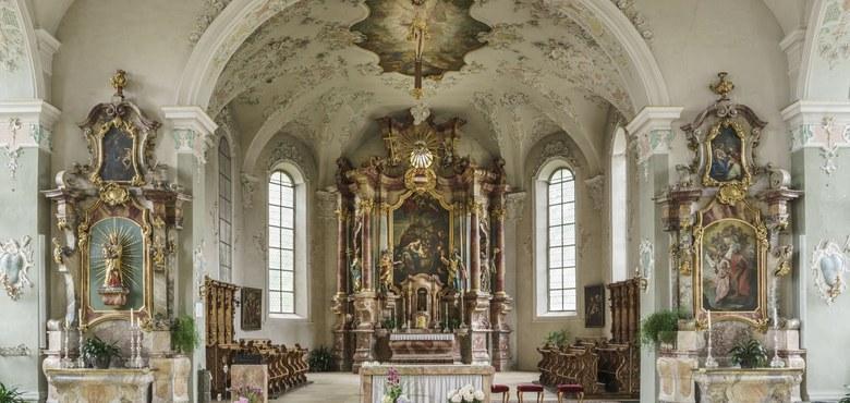 Kirchenführung - Not und Alltag. Von Adeligen und Holzhändlern umkämpfte barocke Werktagkirche.